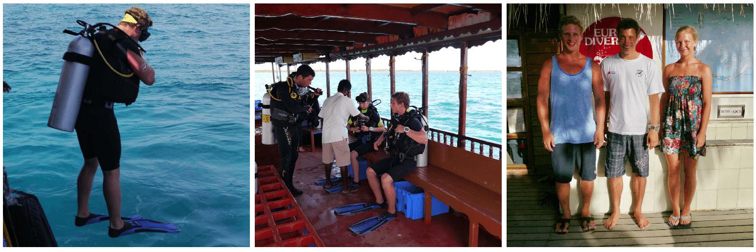 Maldivene, PADI