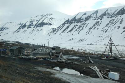 Svalbard, jakthytte