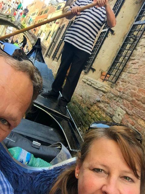 Gondoltur i Venezia
