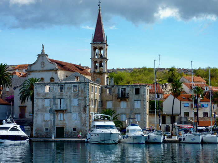Seilferie i Kroatia. Milna