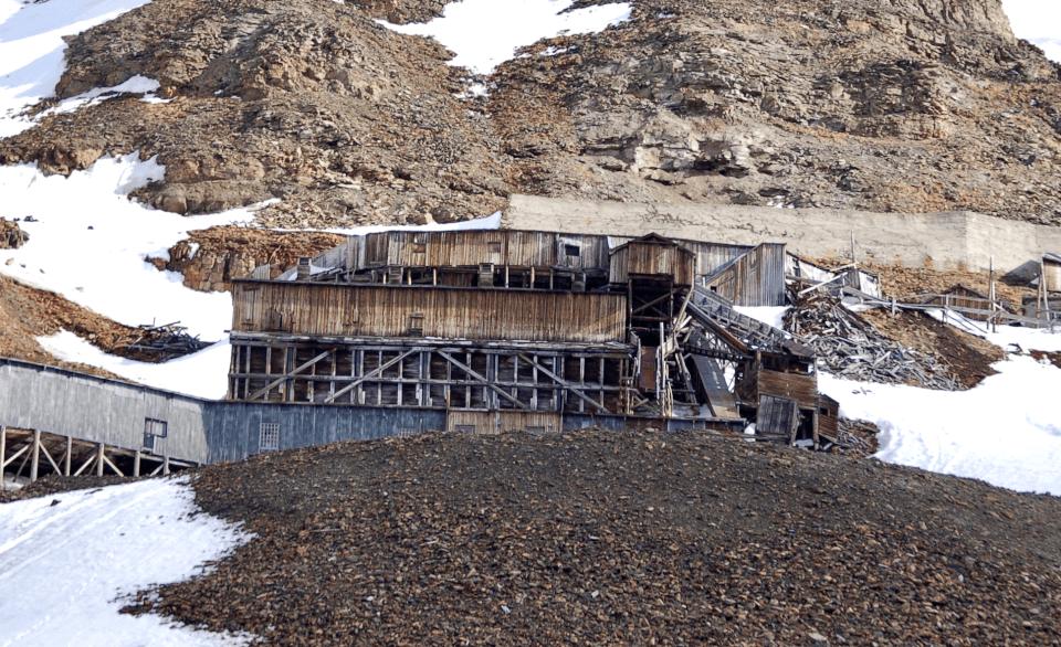 Svalbard, gruve 2b