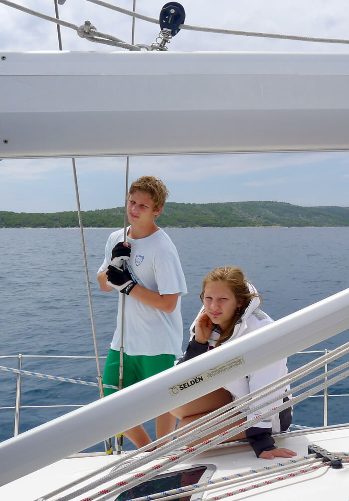 Seilferie i Kroatia- se og lær