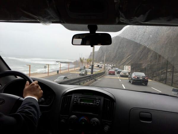 sjøveien ved Lima