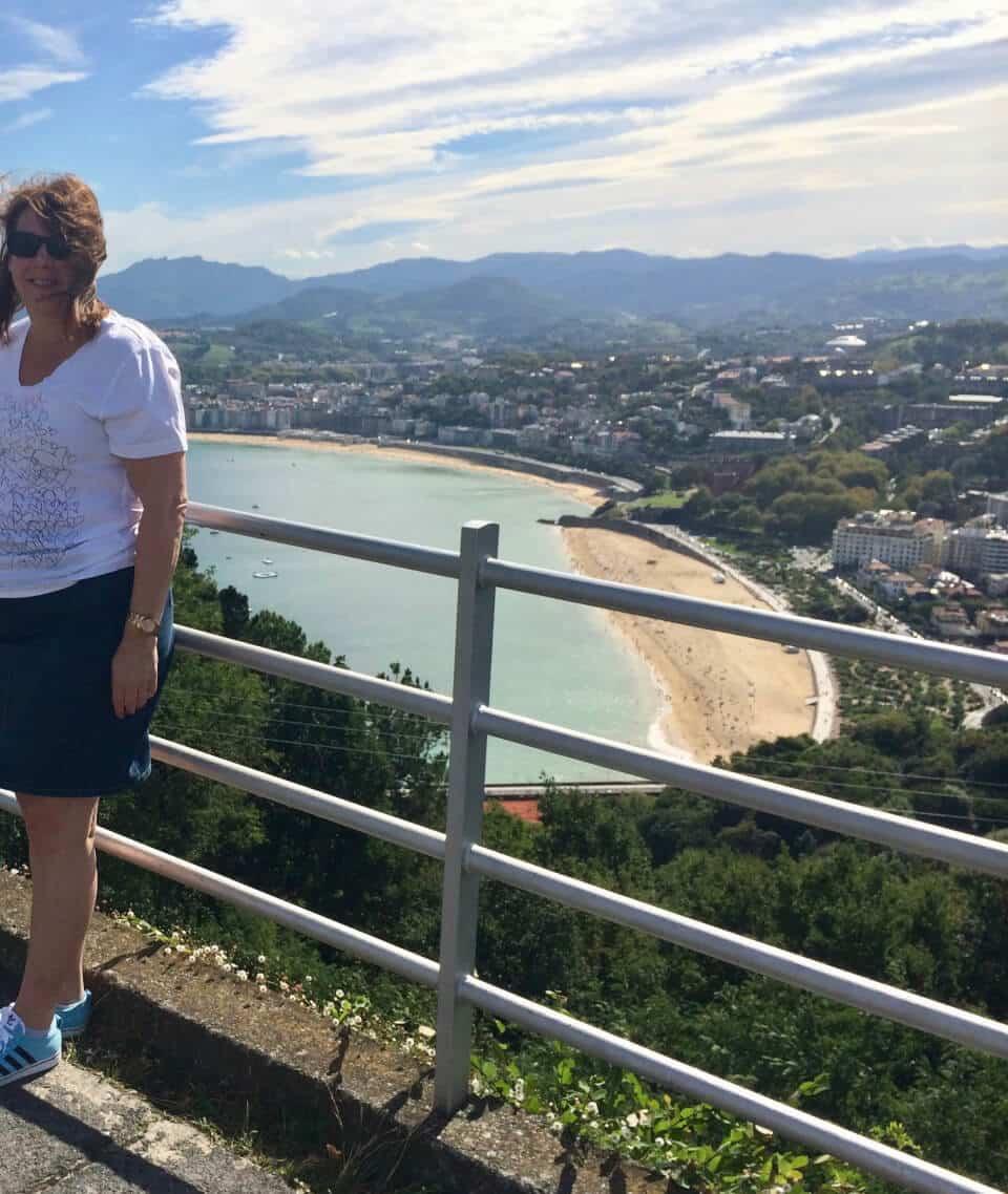Utsikt fra Mount Igueldo, San Sebastian
