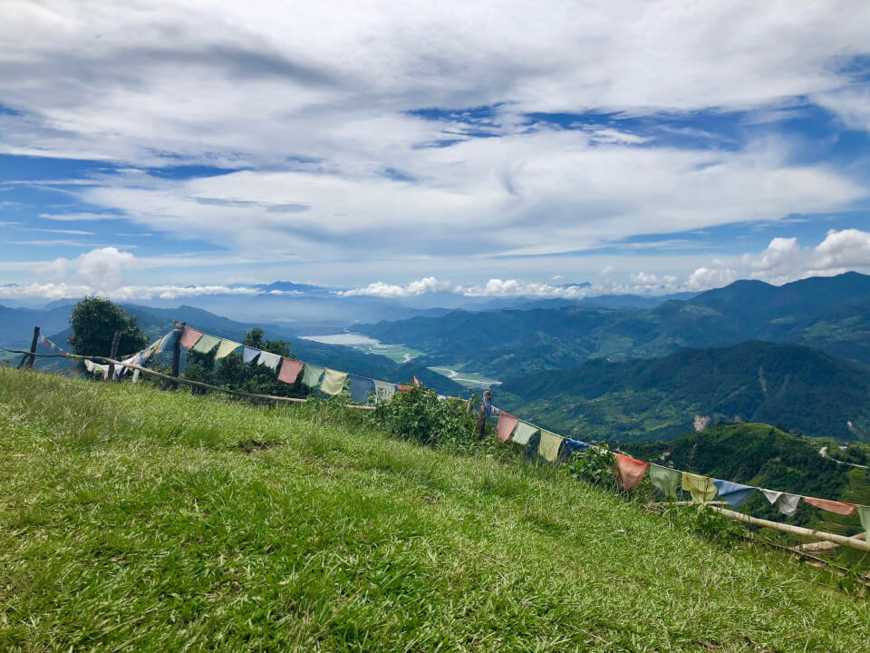 Ghandruk trek, Nepal - utsikt voer Pokhara