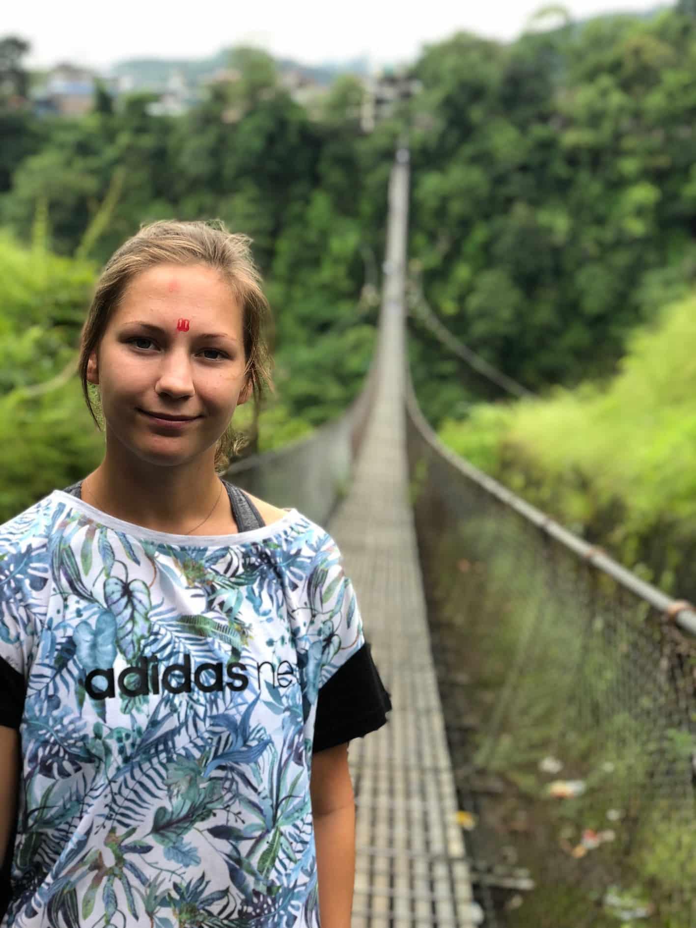 Long bridge, Pokhara