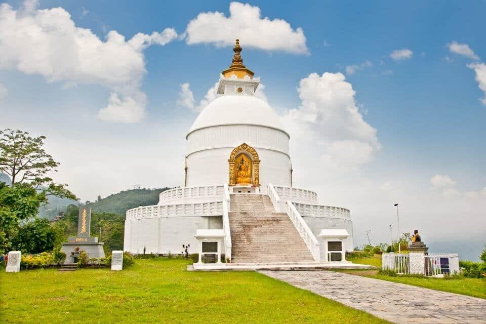 Shanti Stupa -World Peace Pagoda