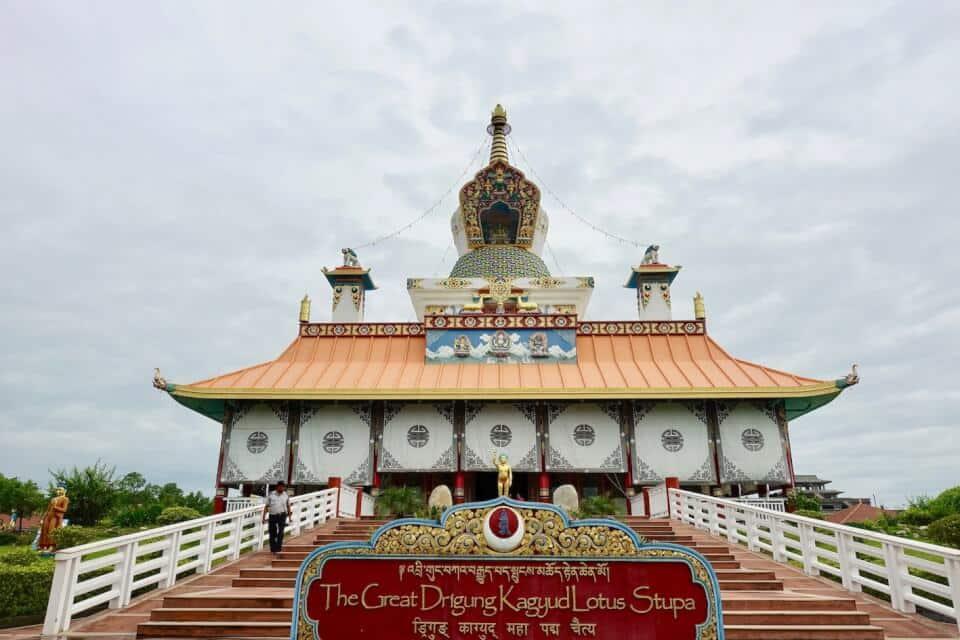 Great Lotus Stupa, Lumbini
