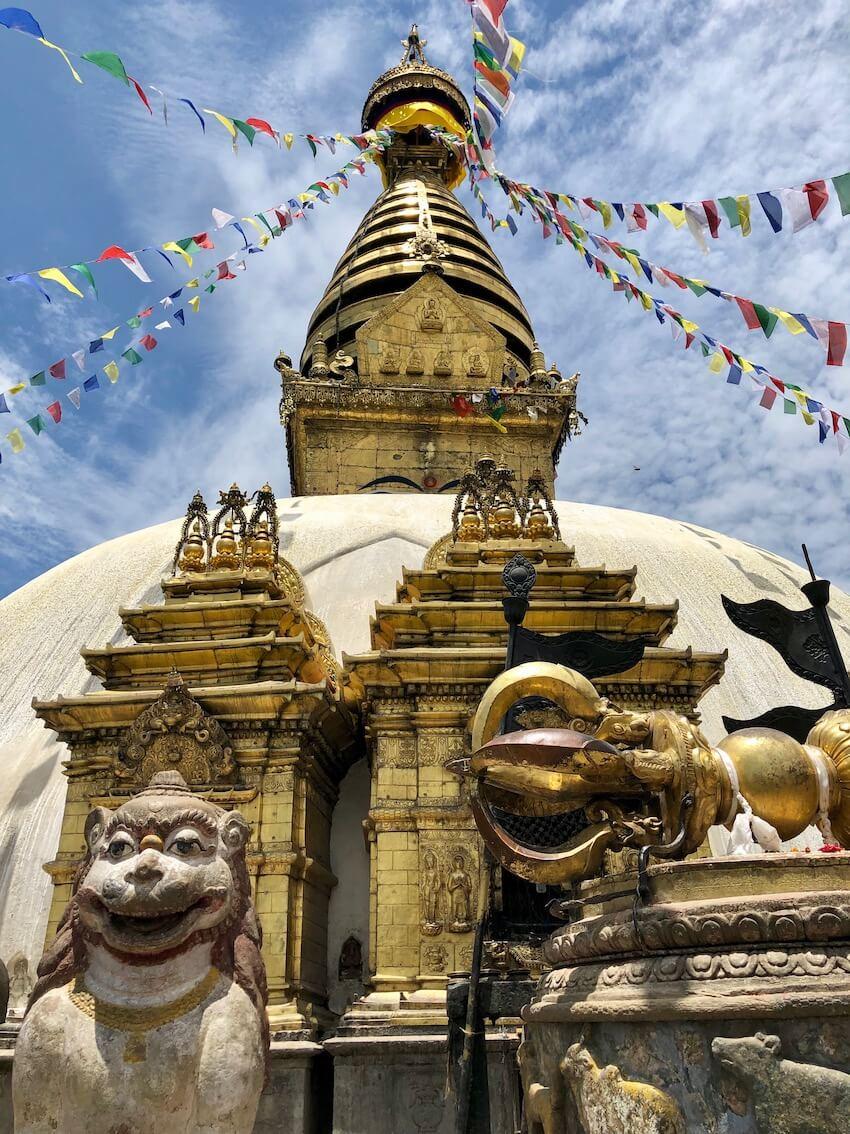 Swoyambhunath stupaen
