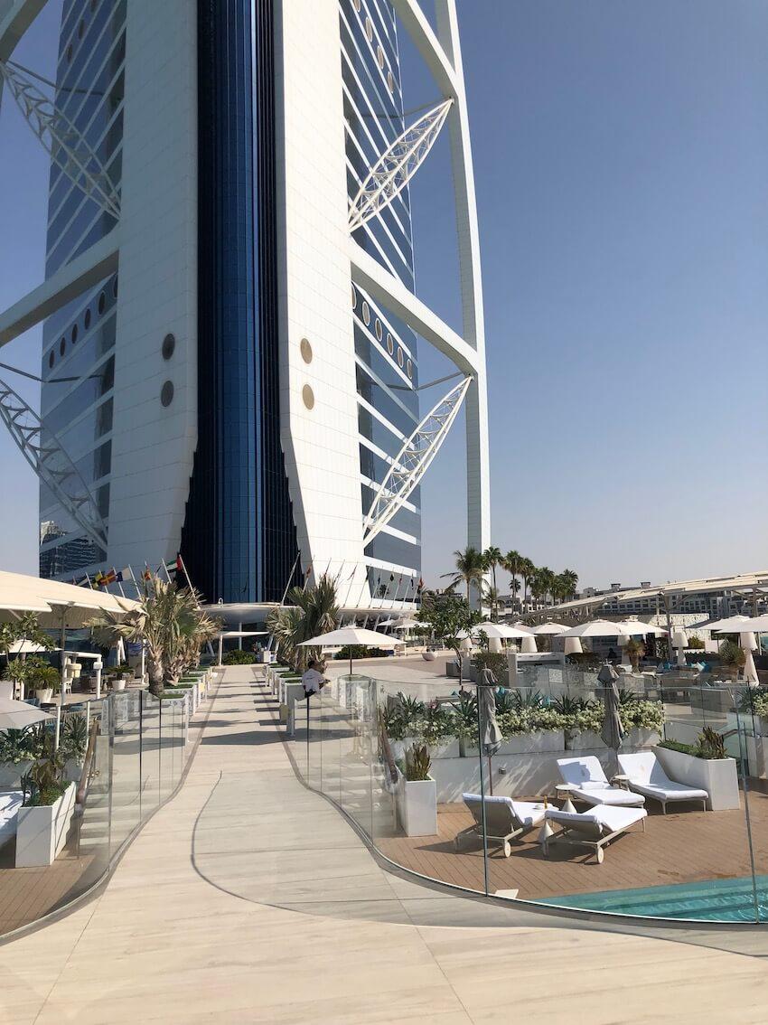 Burj Al Arab, The Terrace