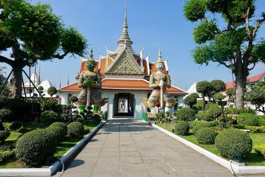 Inngang, Wat Arun
