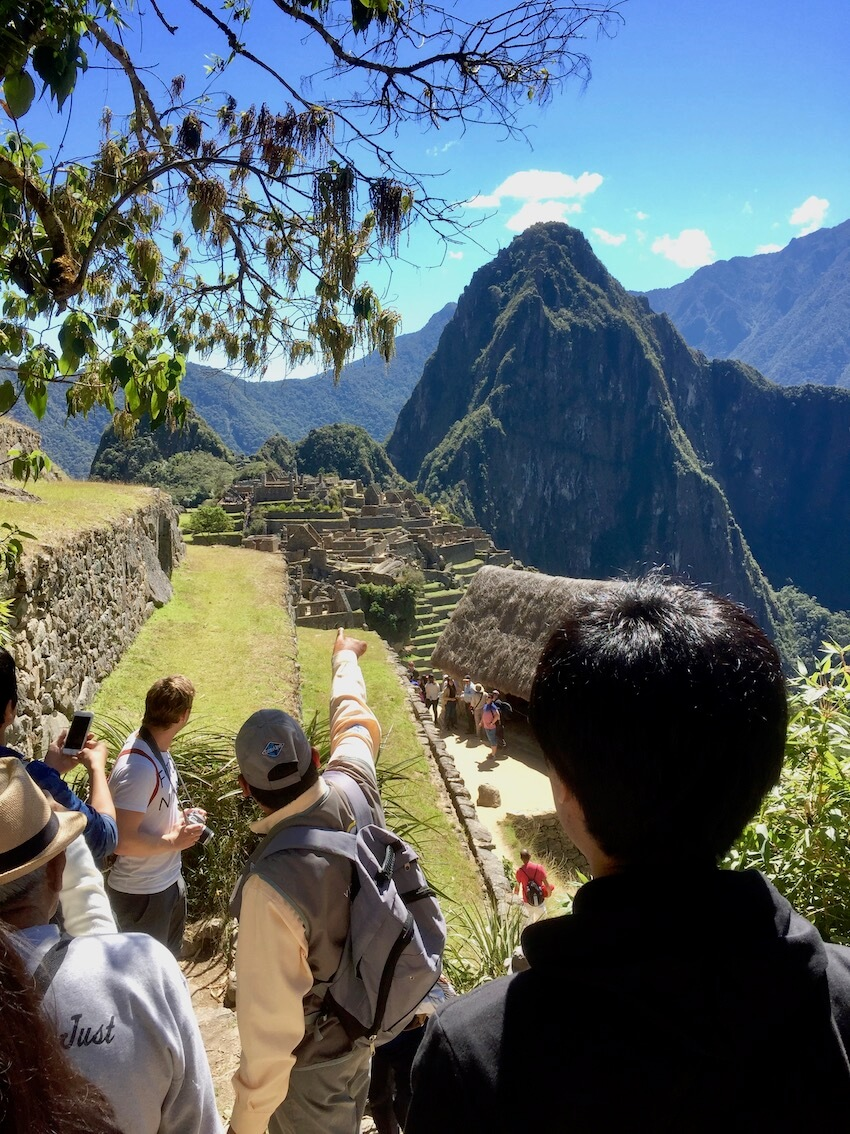 Besøk i Machu Picchu
