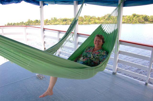 Hammocks i Amazonas