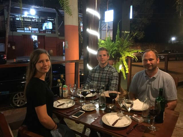 Middag i Argentina
