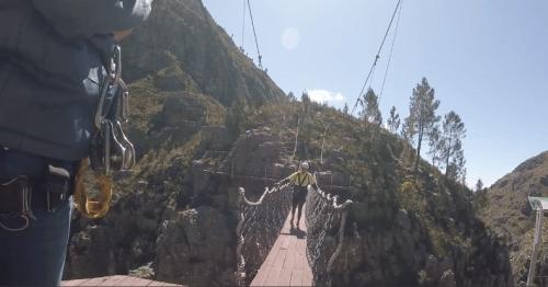 kurs i zip-line med Cape Canopy Tour