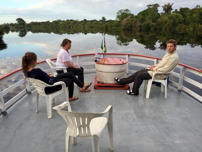 Livet på Amazonas-elven