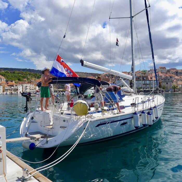 Seilferie i Kroatia