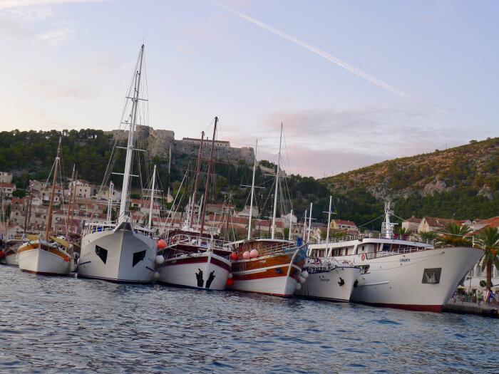 Seilferie i Kroatia - Korcula by