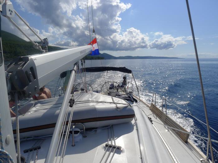Seilferie i Kroatia - fra øy til øy