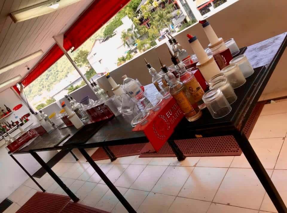 EBS - European bartender schooli Phuket, øving