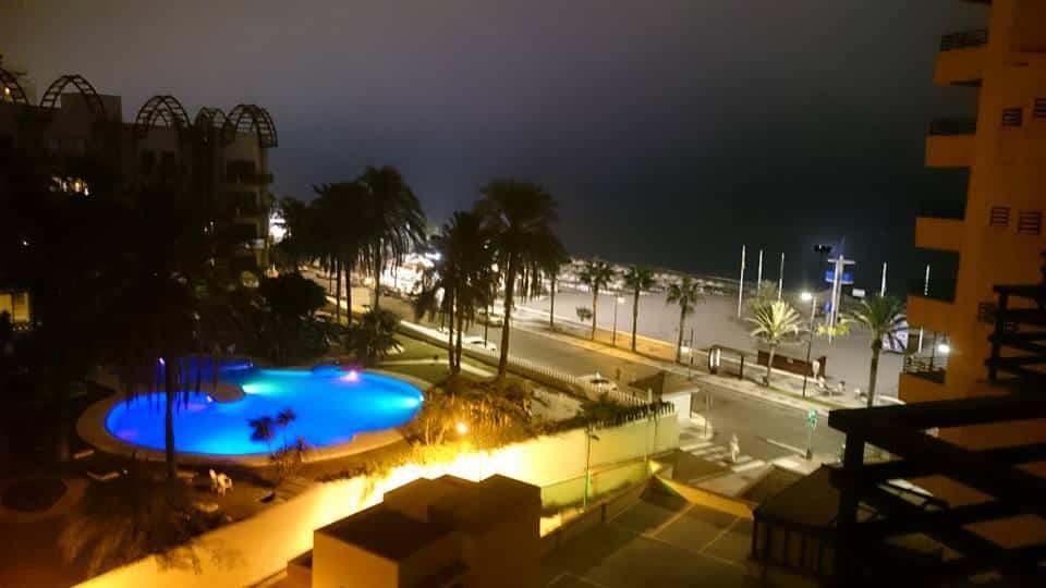 Torremolinos, utsikt fra Hotel Melia