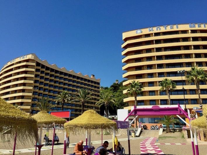 Torremolinos, hotel Melia