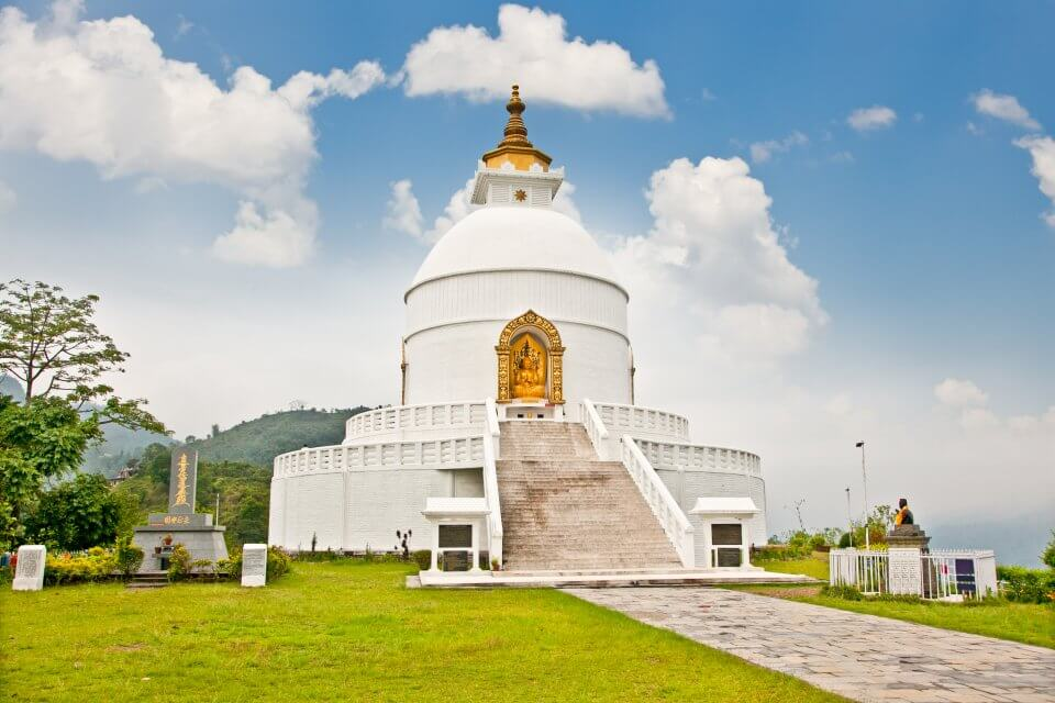 Shanti Stupa - World Peace Pagoda