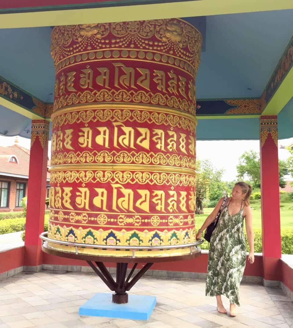 Bønnehjul, Great Lotus Stupa
