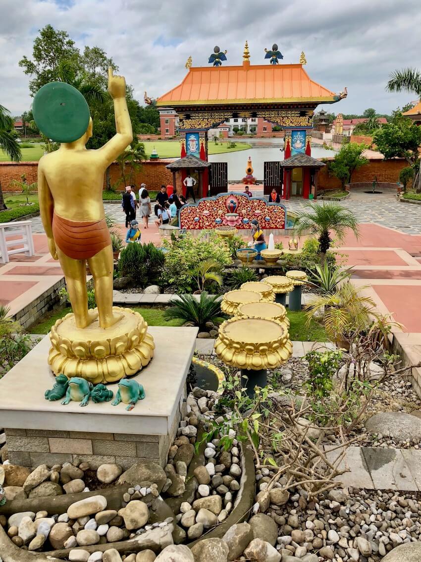 Great Lotus Stupa