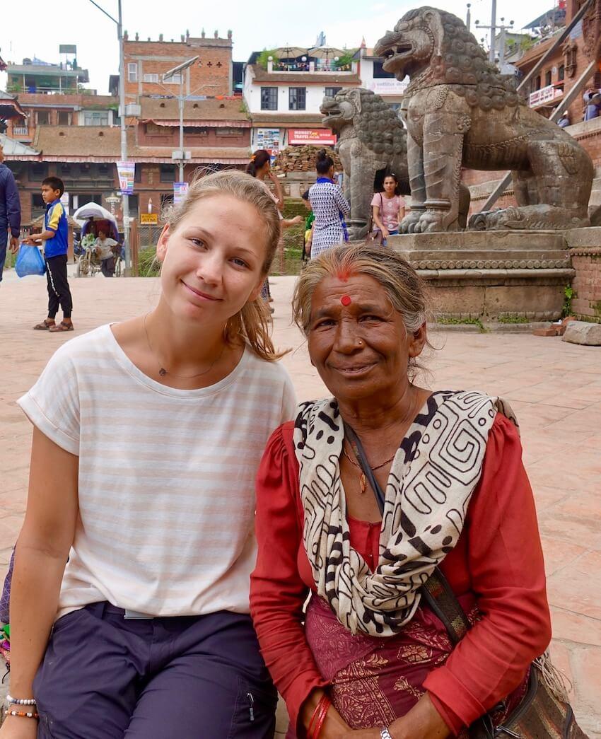Menneskene i Nepal