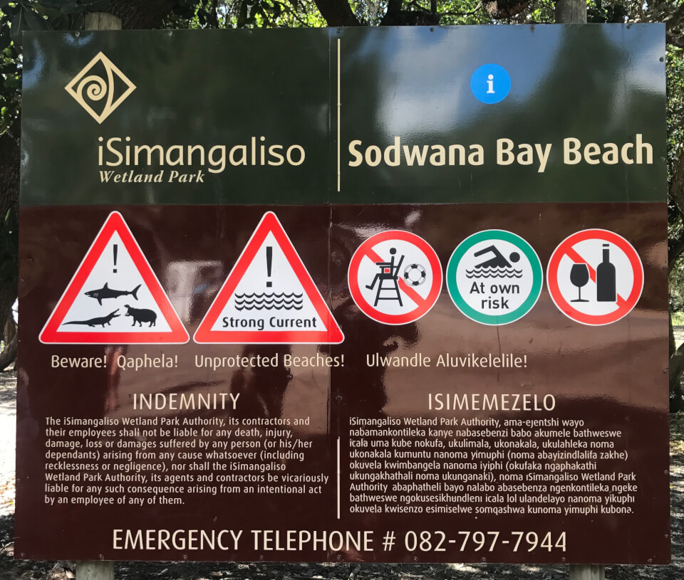 Marine Reef and Conservation - dykking i Sodwana Bay