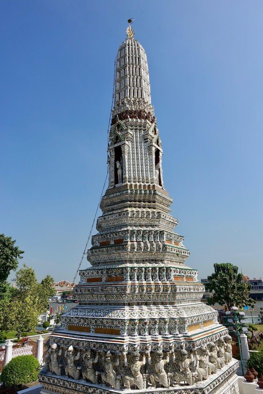 Chedis, Wat Pho i Bangkok