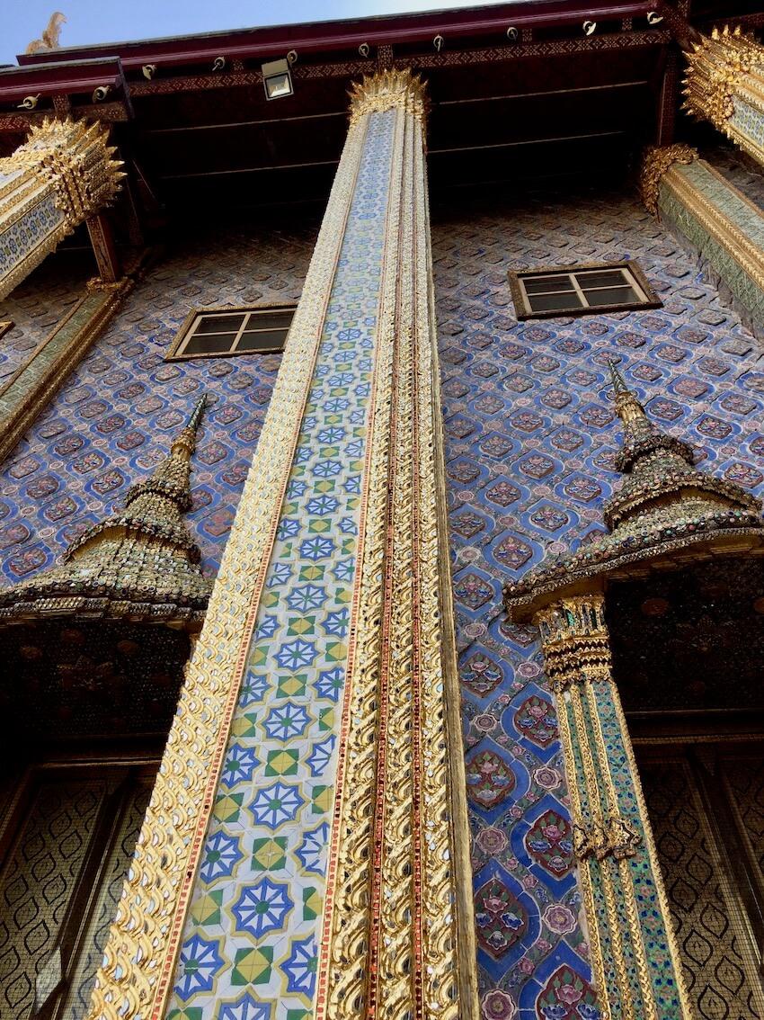 Kongepalasset Grand Palace i Bangkok