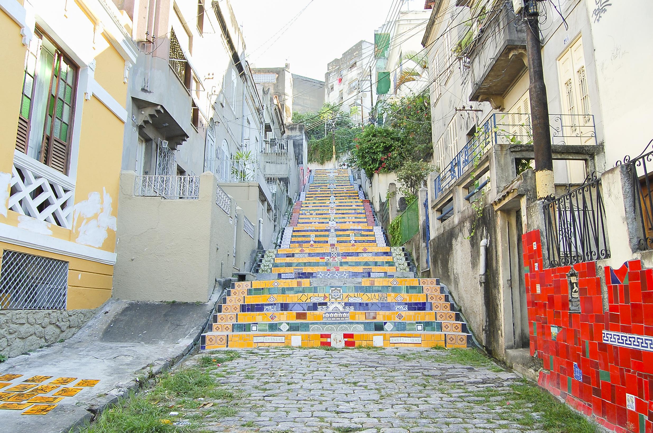 Escadaria Selaron, Rio de Janeiro -