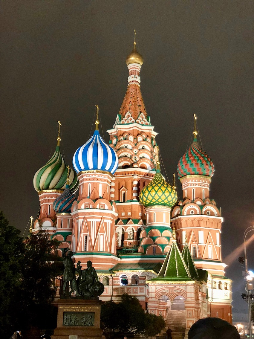 Vassilijkatedralen, Moskva