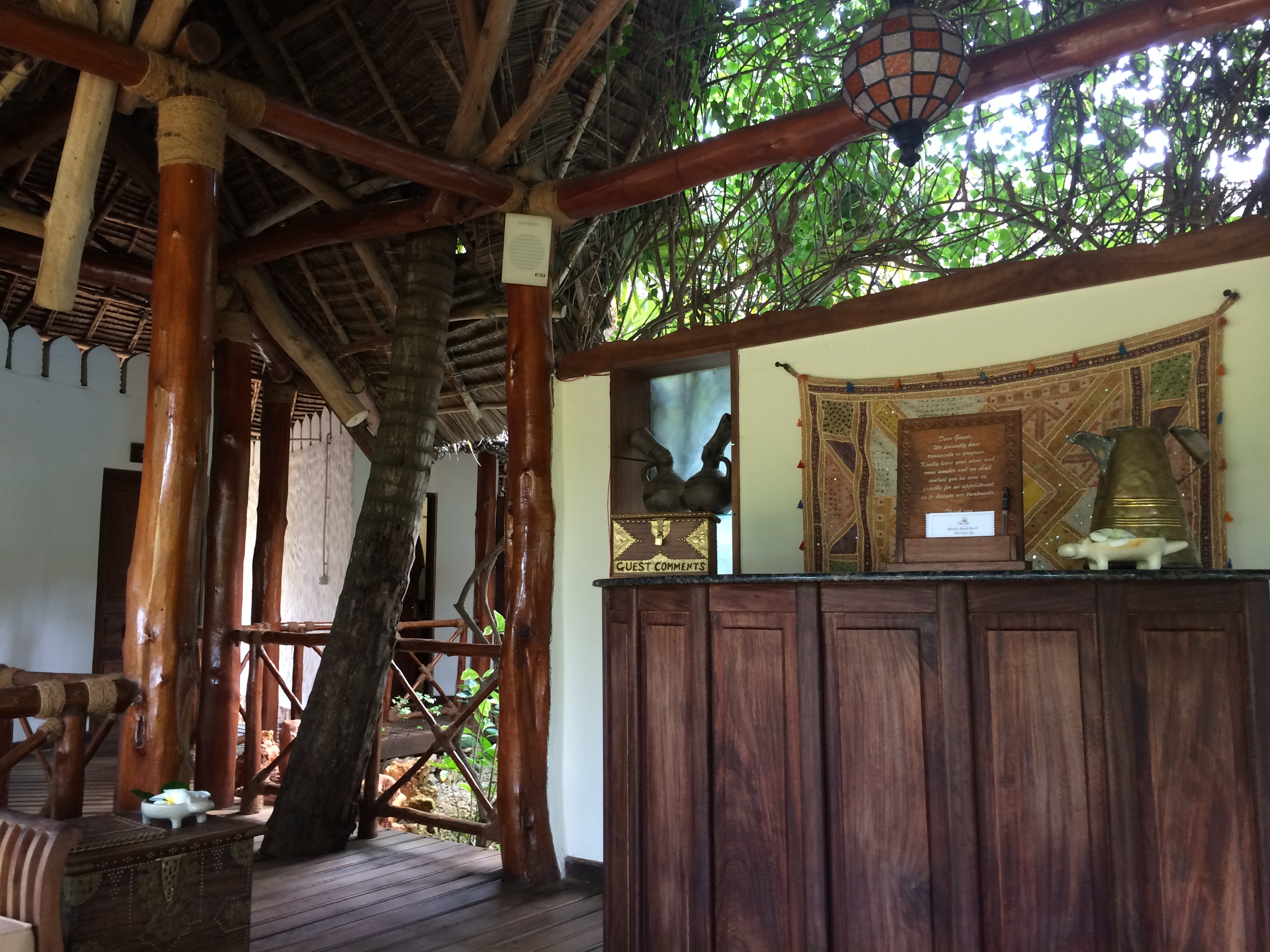 Baren på hotel Sultan Sands, Zanzibar