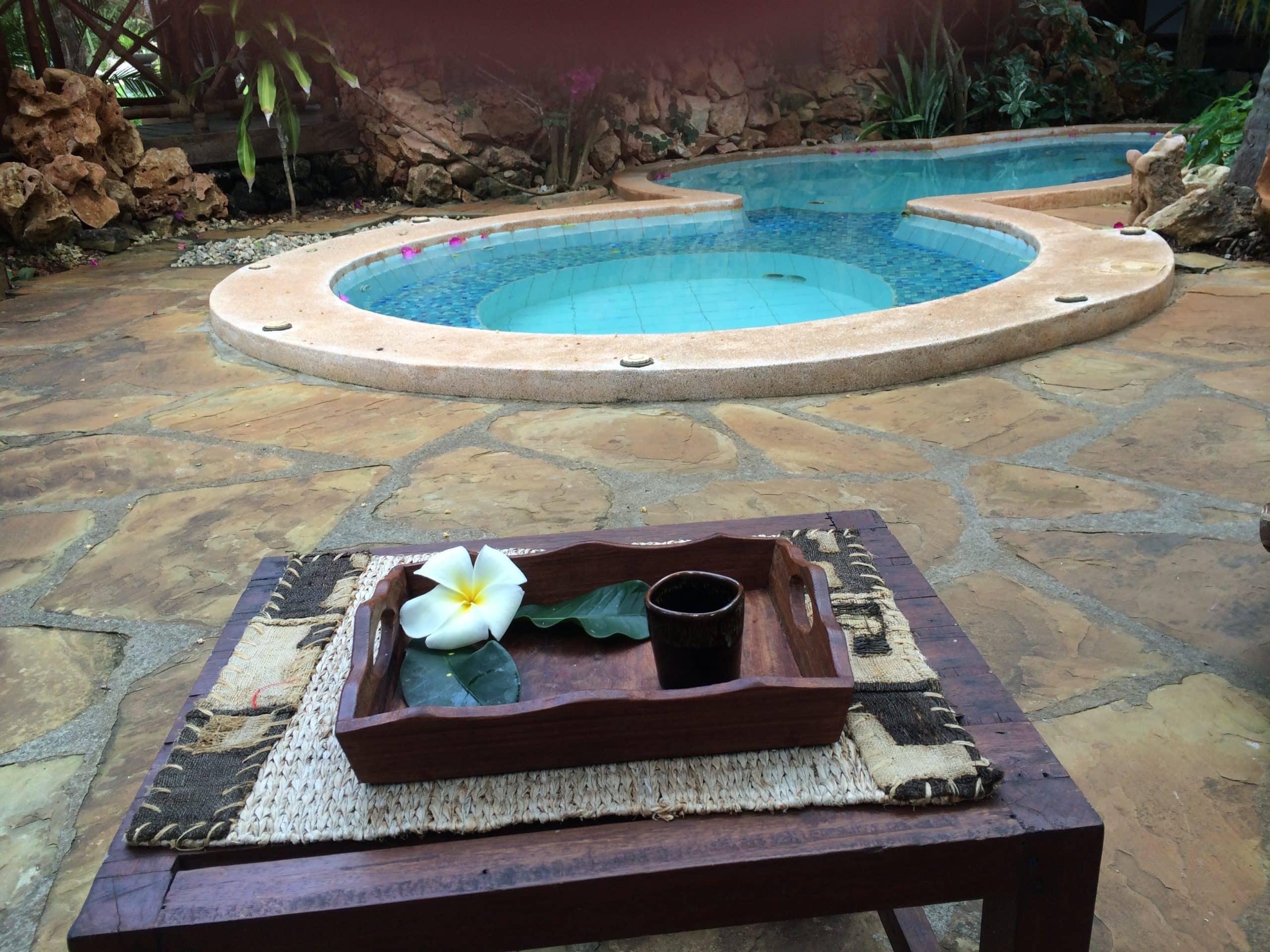 Spa på hotel Sultan Sands, Zanzibar