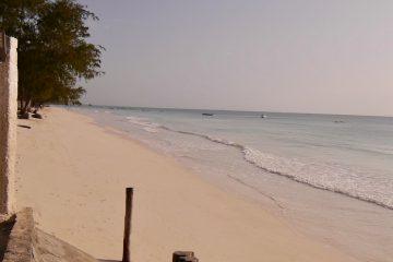 Vakker strandlinje på Zanzibar