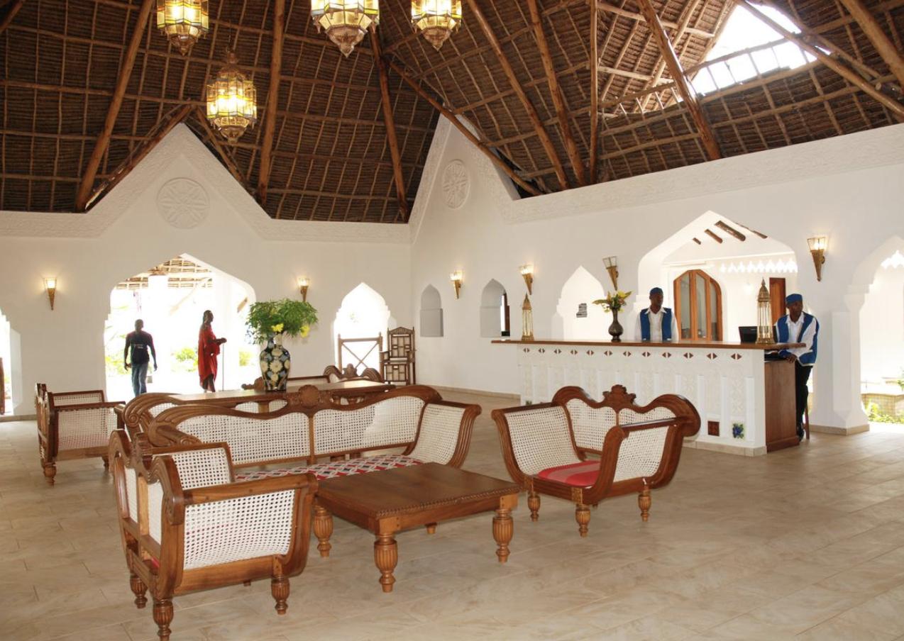 Resepsjonen, Sultan Sands Zanzibar