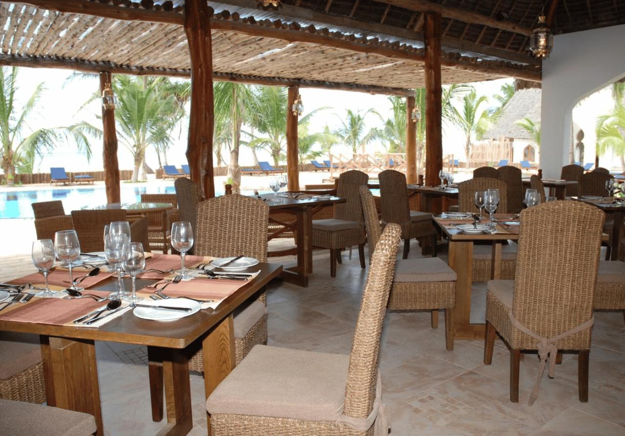 Restauranten på Sultan Sands er delvis åpen