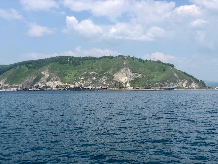Lake Baikal, deepest and oldest Lake in the world. Bajkalsjøen