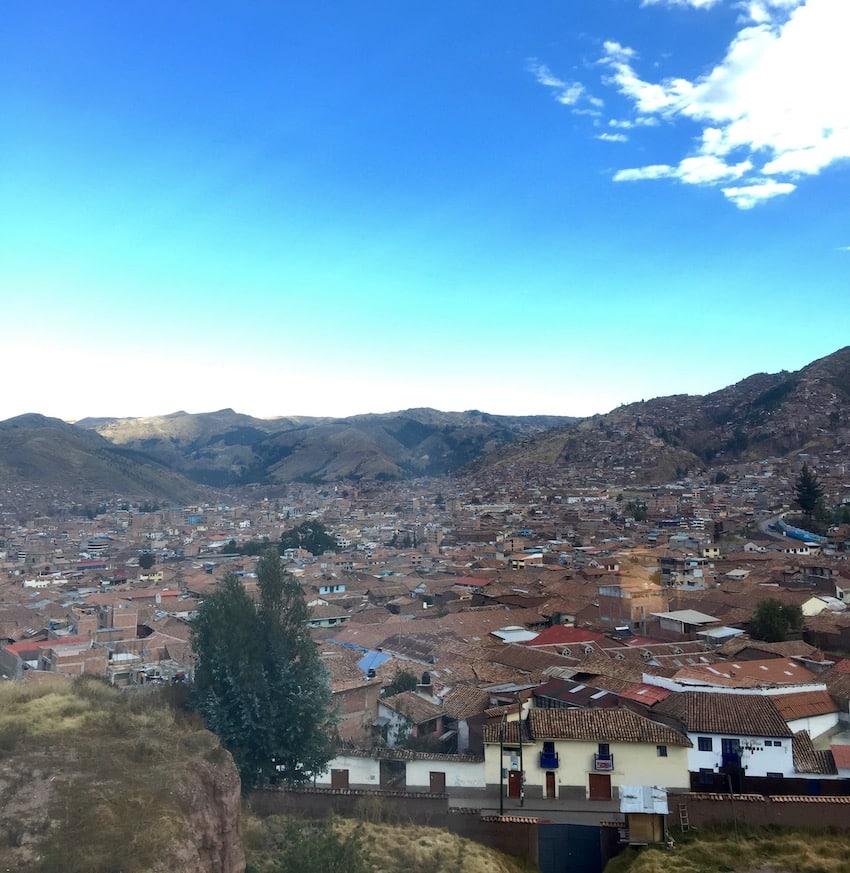 Cusco, Peru. Sør-Amerika.